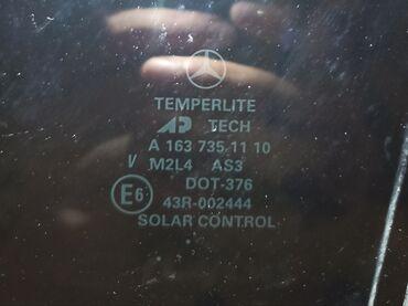 mersedes ml - Azərbaycan: Mercedes ML 320 2003 cü il arxa sol qapının şüşələri