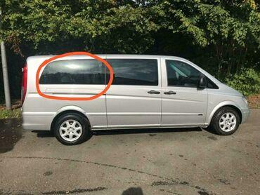 Digər - Azərbaycan: Mercedes-Benz Viano Vito Extra long w639 arxa şüşələri satılır. Zavod