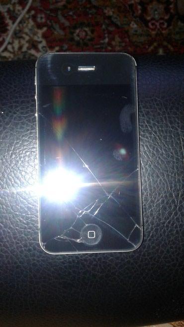 Bakı şəhərində Iphone 4s icloudda koda duwub.ekrani catdi butun detallar