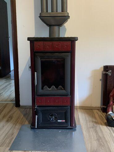 Peci na drva - Srbija: Prodajem AlfaPlam peć, na čvrsto gorivo (drvo, ugalj. ) u dobrom