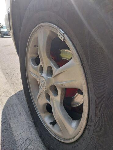 диски на авто на 15 в Кыргызстан: Продаю диски на японское авто R15 с шинами 20 000 сомов, без шин 11