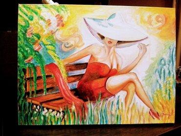 Tifani u parku - zanimljiva slika za ljubitelje umetnosti, radjena je - Beograd