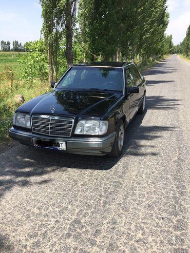 черный mercedes benz в Кыргызстан: Mercedes-Benz E 200 2 л. 1993 | 325000 км