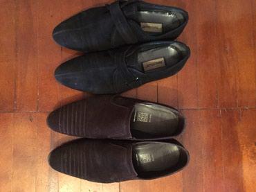 Замшевая обувь, 45 размер, цена за обе пары в Бишкек