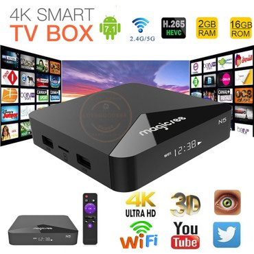 Elektronika | Sremska Mitrovica: Android TV Box - Magicsee N5 - 2/16GB; 2.4/5G WiFi; Bluetooth 4.1- Nov