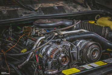 Ford grand c max - Кыргызстан: Двигатель на Jeep Grand Cherokee (ZJ) 5.2L V8 (с навесными)