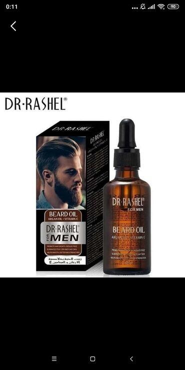 Dr Rashel-den kisiler ucun saqqal cixardan serum