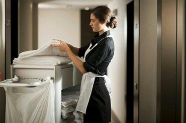 требуется горничная в гостиницу,опыт работы не требуется в Бишкек