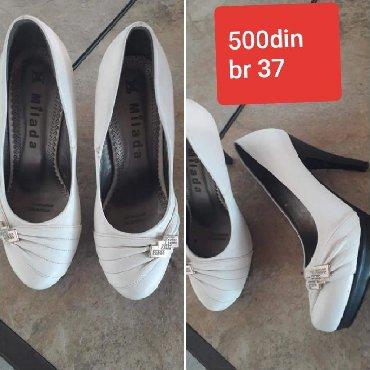 Ženska obuća | Novi Becej: Malo nosene broj 37 cena 500din