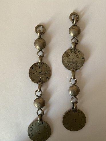 Украшения в Чон Сары-Ой: Старый шашбау в серебре и металлах
