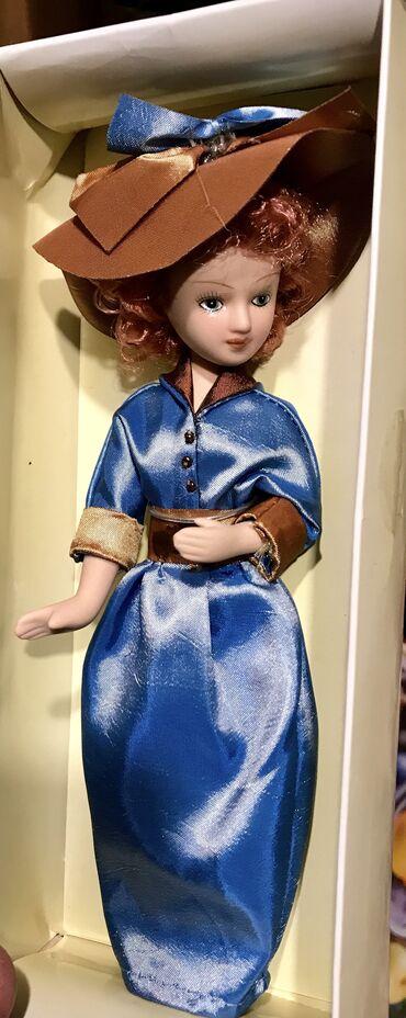 Спорт и хобби - Боконбаево: Статуэтки #Фигурки Фарфоровые- 20 см,девушек в одежде ручной работы(