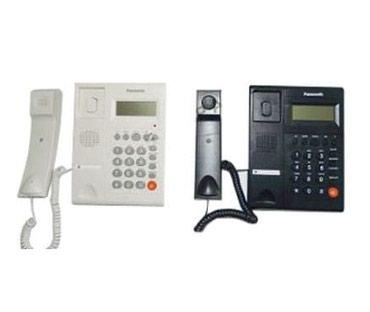 Батарейки-на-телефон - Кыргызстан: Стационарный телефон Panasonic