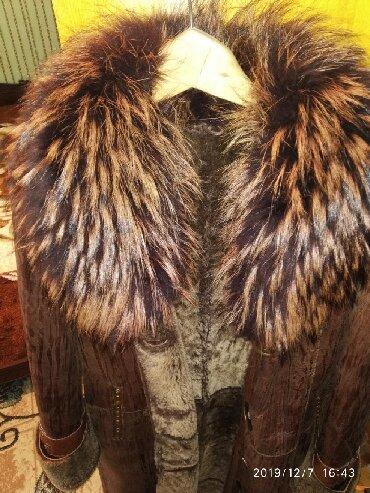 женское платье размер 46 48 в Кыргызстан: Продаю женскую натуральную дублёнку из овчины, размер 46-48