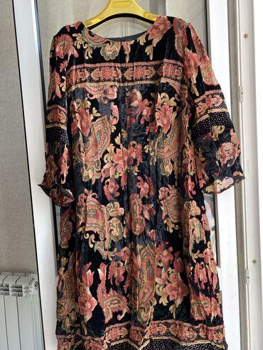 панбархат платья in Кыргызстан | ПЛАТЬЯ: Продаю платье из панбархата,производства Италии,фирма Mariella,размер