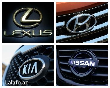 Nissan toyota hyundai kia ehtiyat hisselerine 15% endirim. Zakaz da