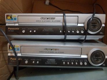 Видеокассетный магнитофон Панасонник. Состояние отличное. Имеются