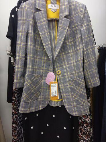 Пиджак женский. Производство Турция. Остались 42 и 46 размеры.(наш)