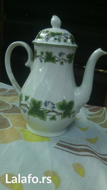 porcelanski čajnik, unikatni bez oštećenja  - Cuprija - slika 2