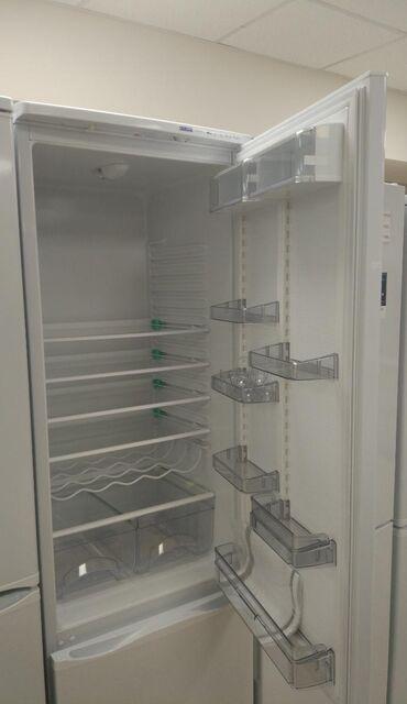 прием-холодильников в Кыргызстан: Новый Двухкамерный Белый холодильник Atlant
