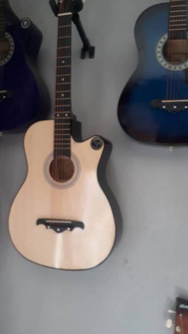 Гитары новые 38 дьюйм по 2400 плюс с чехолом в Бишкек