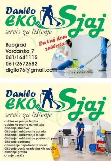 Čišćenje i održavanje - Belgrade