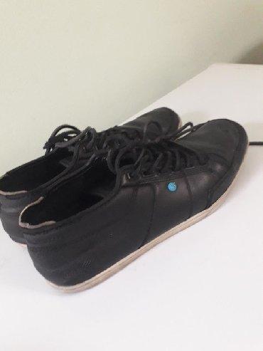 Мужские итальянские кожаные туфли, состояние идеальное, размер 40
