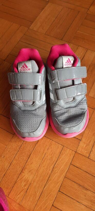 Adidas patike za devojcice, malo nosene kao sto se vidi, velicina 26