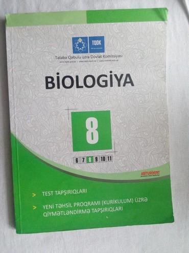 biologiya kitabi - Azərbaycan: Biologiya 8 sinif testi təzə kimidir