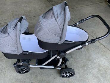 Kolica za bebe - Srbija: Prodajem kolica za blizance Bebetto 42  Aluminijumski ram sa točkovima