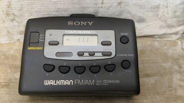 IPod və MP3 Pleyerlər - Azərbaycan: Sony Walkman WM-FX407 mini kaset və radio oxudan klassik əşyaları