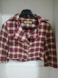 Dečija odeća i obuća - Valjevo: Sako za devojcice veličina S 500din