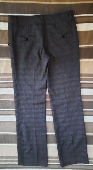 Poslovne pantalone - Srbija: Poslovne pantalone sive cigaret na crtu. Veličina 38