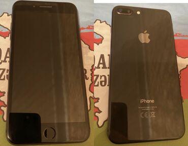 iphone qablari - Azərbaycan: İşlənmiş iPhone 8 Plus 64 GB Boz (Space Gray)