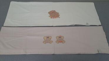 Σεντόνι ροζ χωρίς λάστιχο με ελεφαντάκια 1,60 x 1,10 εκατ. ( NEF-NEF )