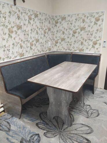 Комплекты столов и стульев - Кыргызстан: Изготовление кухонных уголков по индивидуальным замерам. Достойное