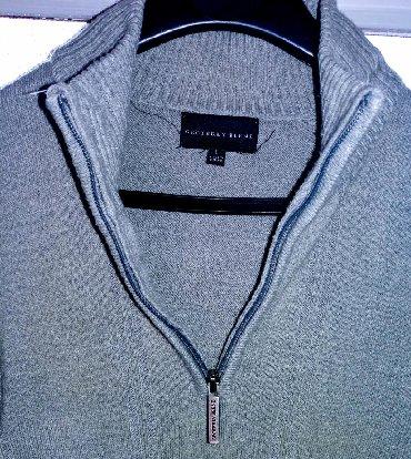 Muška odeća | Bor: Geoffrey Beene muski dzemper L velicine sa rajfeslusom. Dzemper je