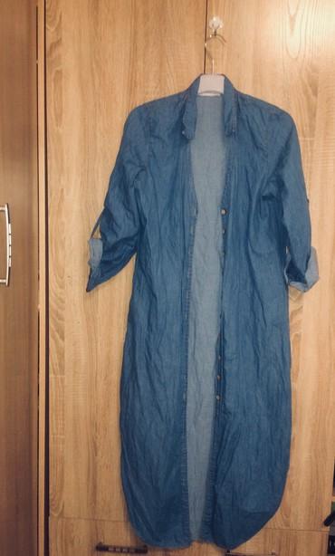 Рубашки и блузы - Кок-Ой: Классная накидка 44-46 пуговицы рабочие. (Обмен 1500)