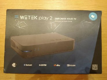 android tv в Азербайджан: Wetek Play 2 android tv box 4k DVB-S2 tv tuner. Wetek Play 2 DVB-S2 4k