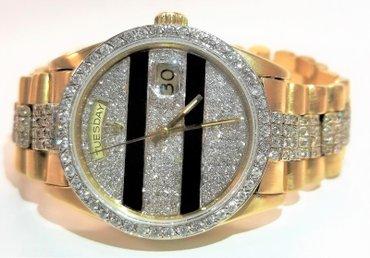 Mens Rolex 18k Gold President Day Date 10ct Diamond Bracelet Diamond σε Γλυφάδα