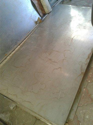 Лист из нержавейки 1м х 2м толшина 1мм цена 3800с оптом дешевле в Бишкек