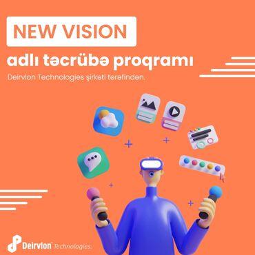 """adlı - Azərbaycan: *Deirvlon Technologies MMC* şirkətində *""""New Vision""""* adlı təcrübə"""
