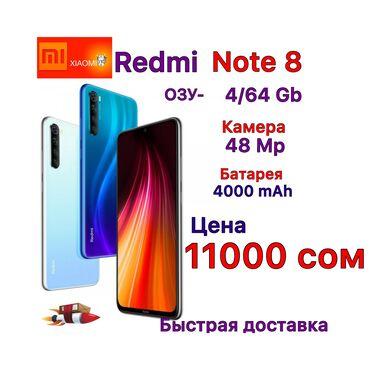 Новый Xiaomi Redmi Note 8 64 ГБ Черный