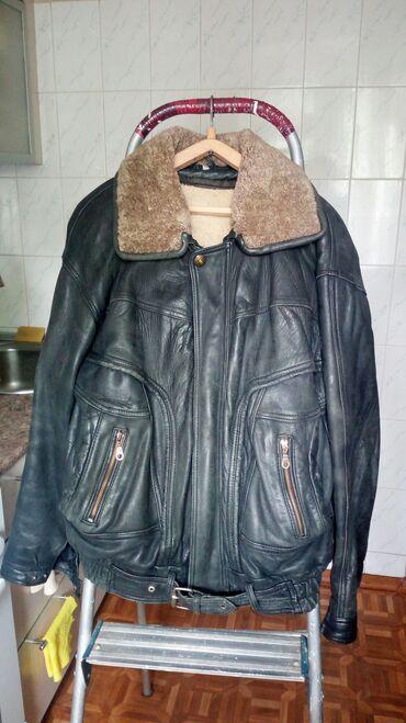Куртка мужская-Косуха. Кожа. Мало ношенная-в хорошем состоянии