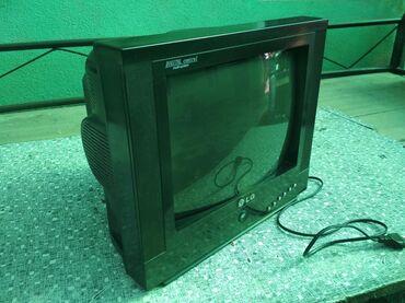 lg телевизор цветной в Кыргызстан: Маленький телевизор LG рабочий цветной диагональ 35 см Кара-Балта