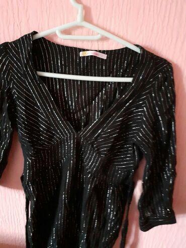 Elegantna zenska bluza - Srbija: Zenska elegantna strukitana bluza S broj 700 din