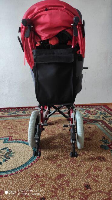 Детский мир - Кемин: Продаю коляску +автокресло для ДЦП