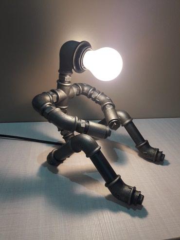 Stona Lampa - Retro Industrijska. Dekorativna i izuzetno neobicna i - Kraljevo