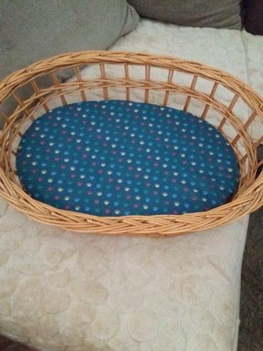 Korpa nova sa jastukom povoljno 60 x 43 unutrasnje mere.Moze za macu i - Beograd