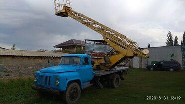 Автовышка ГАЗ-53, АГП-17м, вся система работает, в хорошем состоянии
