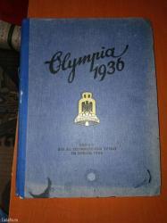 Katalog sa xl olimpijskih igara u berlinu 1936 god. U katalogu se - Velika Plana